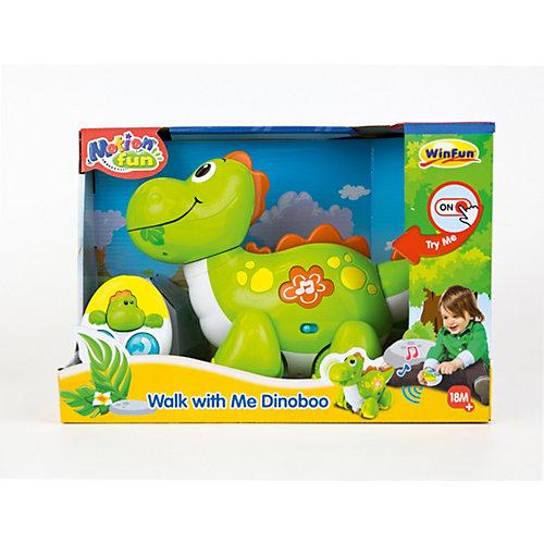 Динозавр WinFun «Погуляй со мной» от WinFun