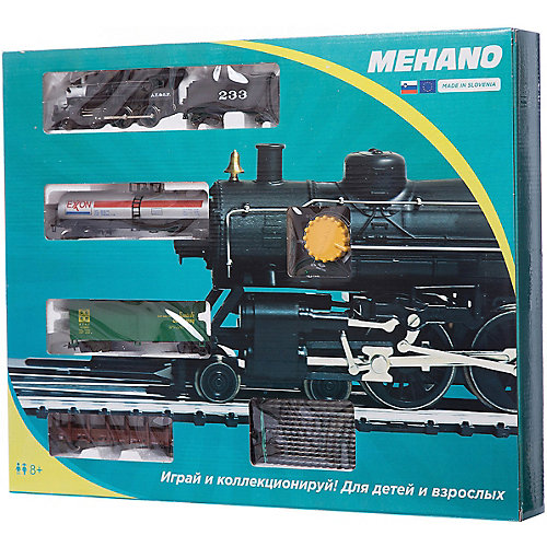 "Стартовый набор Mehano ""Hobby Pan American"", с 3 вагонами от Mehano"