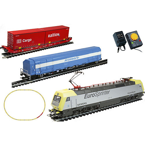 "Электровоз Mehano ""Dispolok"" с вагонами T214 и T216 от Mehano"