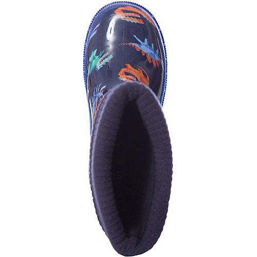 Резиновые сапоги со съемным носком Kapika - синий от Kapika