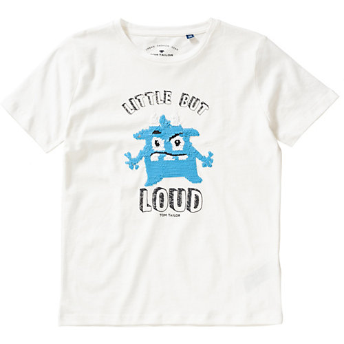 newest 30c54 825c3 myToys | SALE TOM TAILOR T-Shirt mit Wendepailletten Jungen ...