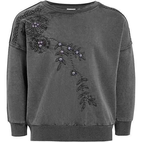 Next Sweatshirt mit Perlen Gr. 158 Mädchen Kinder | 05057763364714