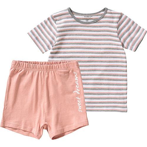 NAME IT Schlafanzug NMFNIGHTSET Gr. 110 Mädchen Kleinkinder | 05713728453809
