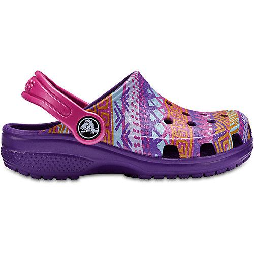 Сабо  Crocs - лиловый от crocs