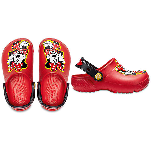 "Сабо ""Minnie Mouse"" CROCS для девочки"