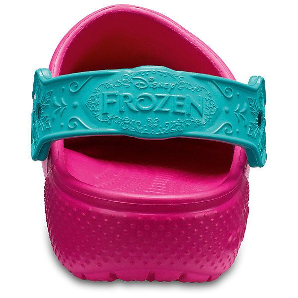 """Сабо """"Frozen"""" CROCS для девочки"""