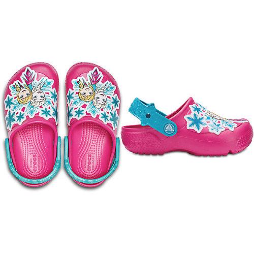 Сабо CROCS Frozen - розовый от crocs