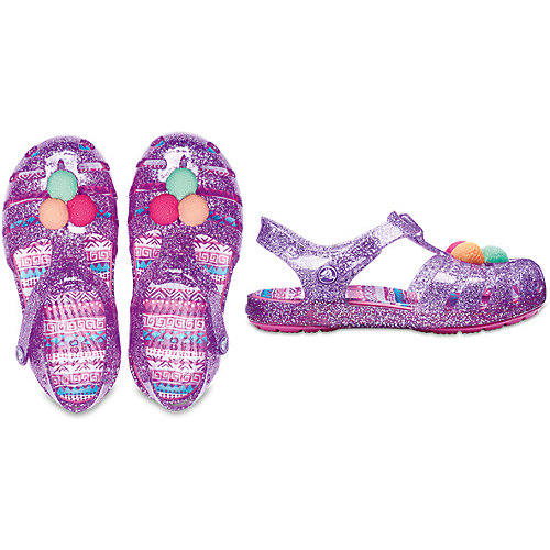 Сандалии CROCS Crocs Isabella Novelty Sandal - лиловый от crocs