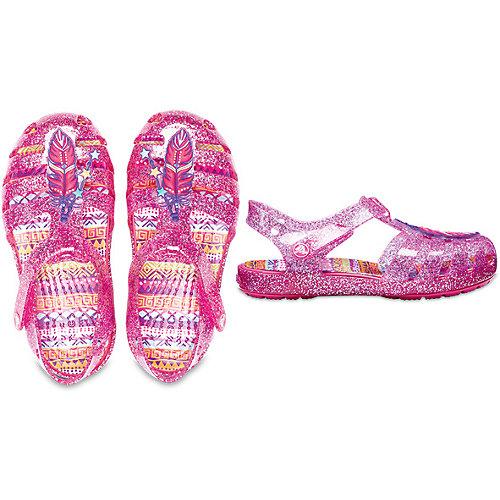 Сандалии CROCS Crocs Isabella Novelty Sandal - розовый от crocs