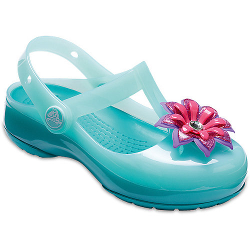 Сандалии CROCS Crocs Isabella Emb Clog - голубой от crocs