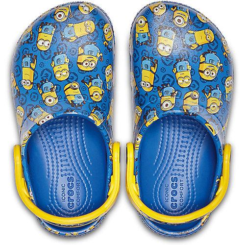 Сабо CROCS Minions - синий от crocs