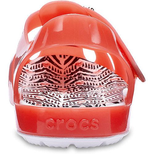 Сандалии CROCS - оранжевый от crocs