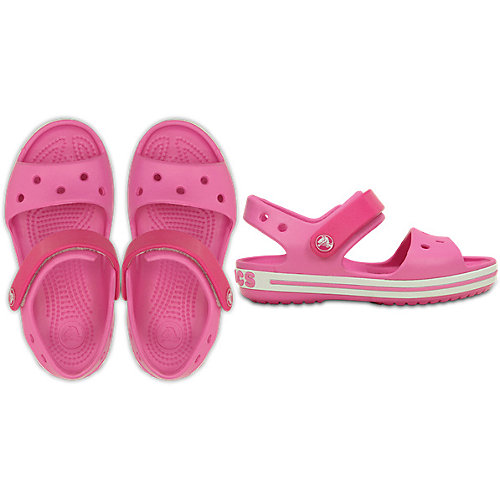 Сандалии CROCS Crocband Sandal K - розовый от crocs