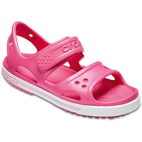 Сандалии CROCS Crocband II Sandal PS - розовый от crocs