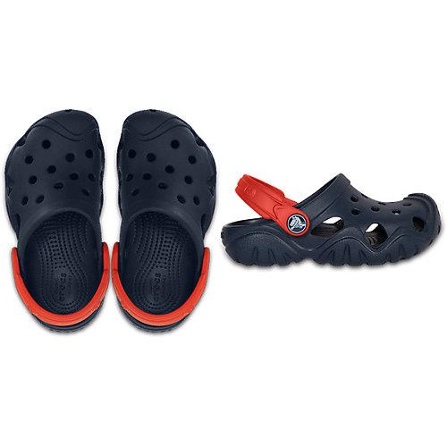 Сабо CROCS Swiftwater Clog K - темно-синий от crocs