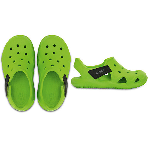 Сандалии CROCS Swiftwater Wave K - зеленый от crocs