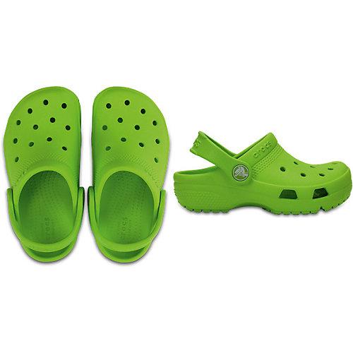Сабо CROCS Crocs Coast Clog K - зеленый от crocs
