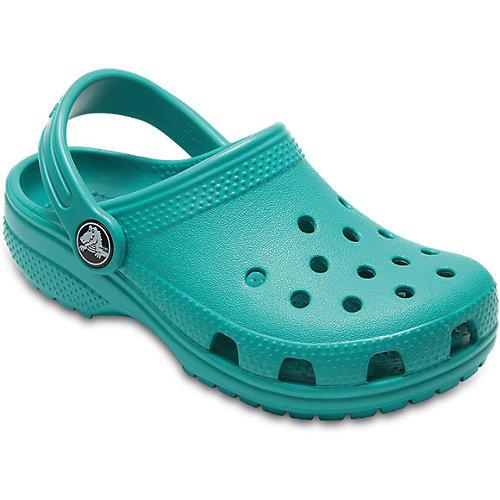 Сабо CROCS Classic Clog K - голубой от crocs