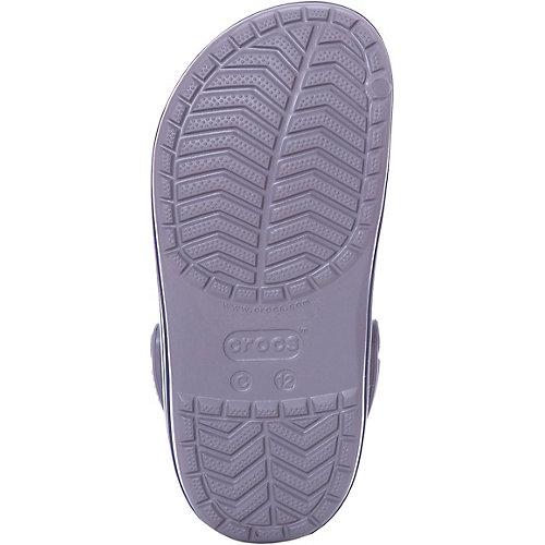 Сабо CROCS Crocband Clog K - серый от crocs