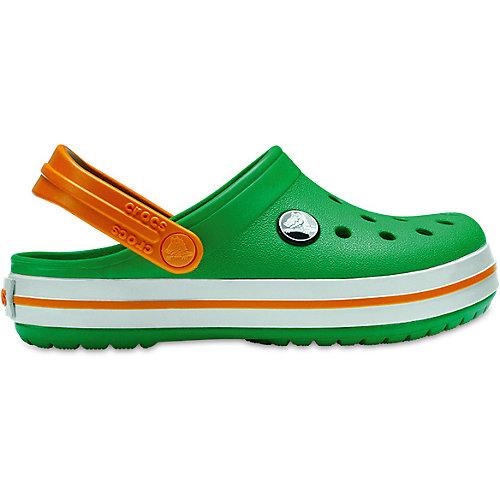 Сабо CROCS Crocband Clog K - зеленый от crocs