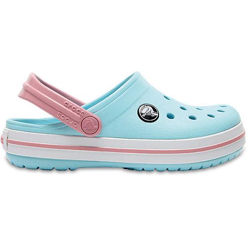 Сабо CROCS Crocband Clog K - голубой от crocs