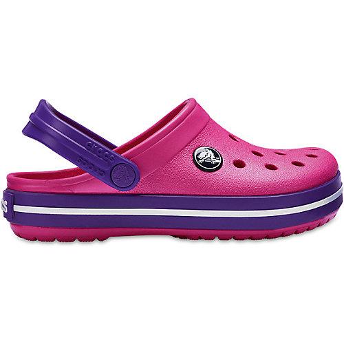 Сабо CROCS Crocband Clog K - розовый от crocs