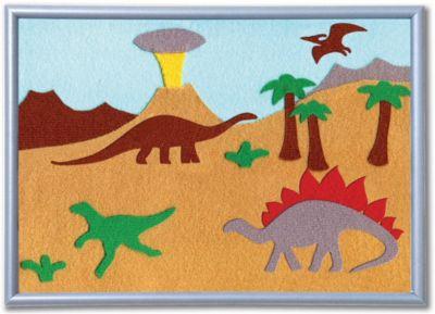 """Набор STIGIS """"Аппликация Динозавры"""", 30х21"""