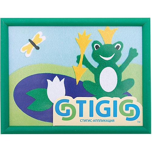 """Набор STIGIS """"Аппликация Царевна-Лягушка"""" с рамкой, 20х15 от STIGIS"""