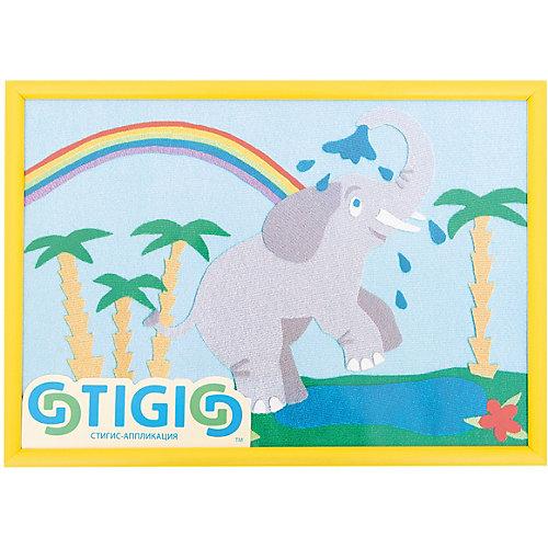 """Набор STIGIS """"Аппликация Слоник"""" с рамкой, 30х21 от STIGIS"""