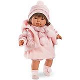 """Кукла Llorens """"Карла"""" 42 см со звуком"""