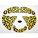 Украшение-стикер для лица «Леопард» 1 шт, Partymania