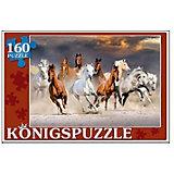 "Пазл Konigspuzzle ""Табун лошадей"" 160 элементов"