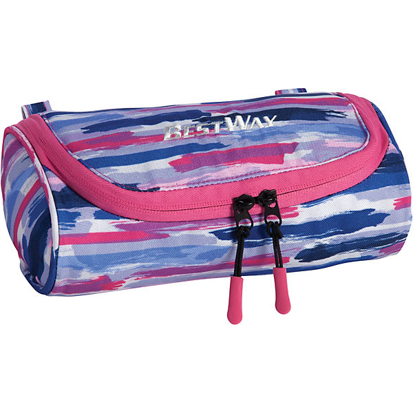 Etui-Box Evolution pink/blau