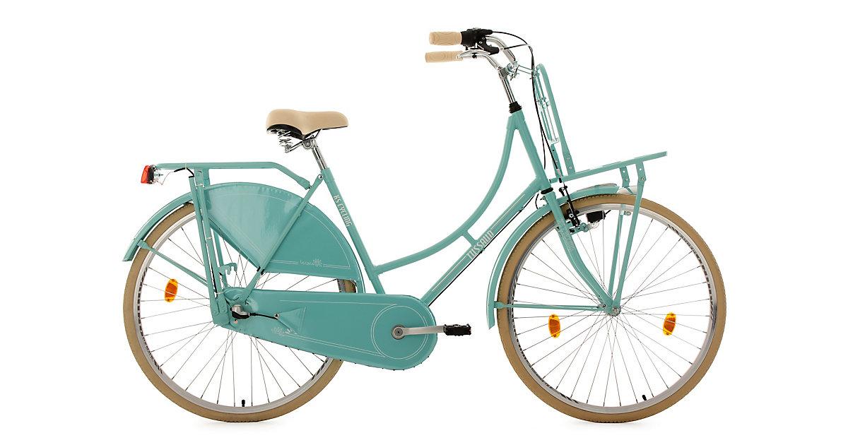 KS Cycling · Hollandrad Tussaud mit Frontgepäckträger 28 Zoll, grün
