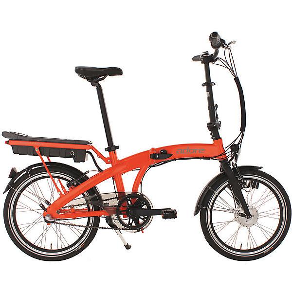 e bike pedelec klapprad alu adore zero 20 zoll orange mytoys. Black Bedroom Furniture Sets. Home Design Ideas