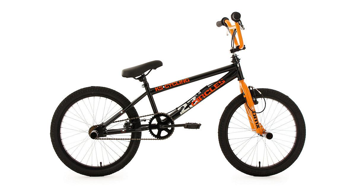 bmx fahrrad circles 20 zoll orange. Black Bedroom Furniture Sets. Home Design Ideas
