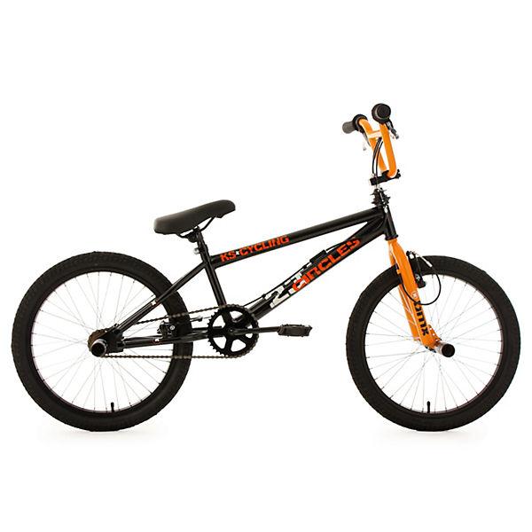 bmx fahrrad circles 20 zoll orange ks cycling mytoys. Black Bedroom Furniture Sets. Home Design Ideas