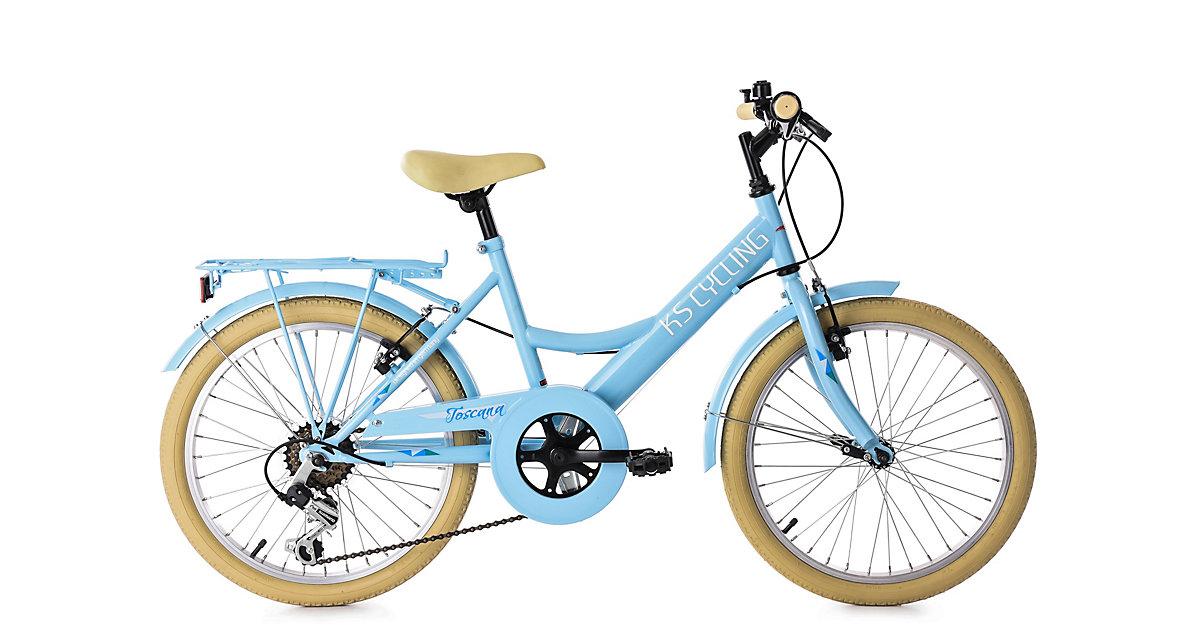 """Jugendfahrrad Kinderrad 20"""" Toscana Fahrräder, Rahmenhöhe: blau"""