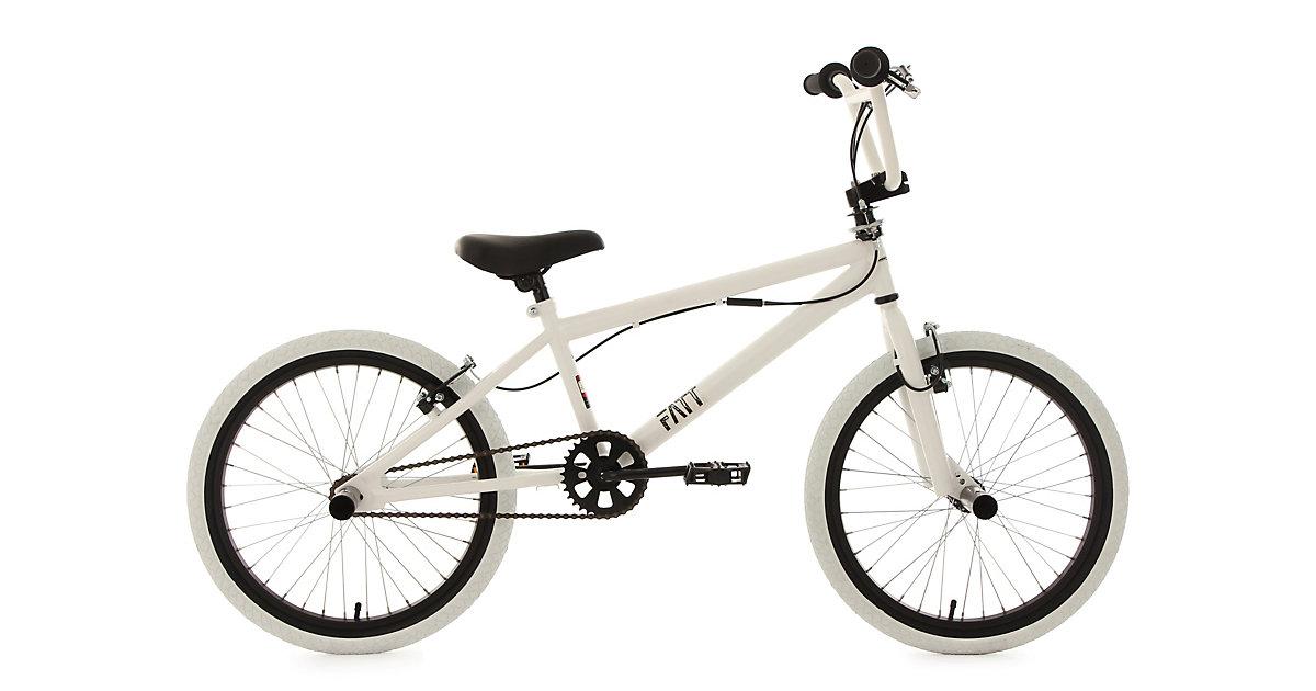 BMX-Fahrrad Fatt 20 Zoll, weiß
