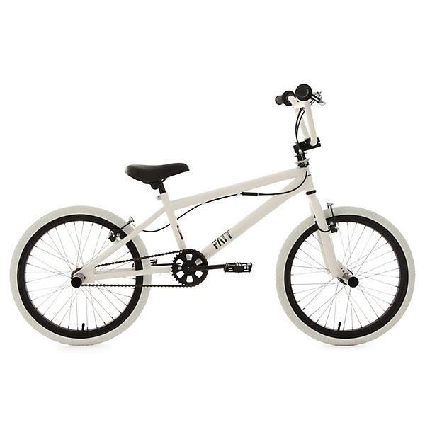BMX-Fahrrad Fatt 20 Zoll, weiß, KS Cycling