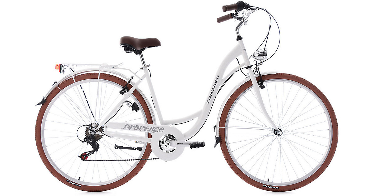 Jugendfahrrad Provence 28 Zoll, weiß