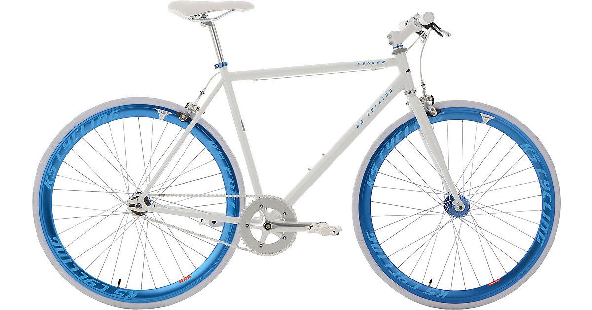 Fitnessbike Pegado weiß- Rahmenhöhe 59 cm 28 Zo...