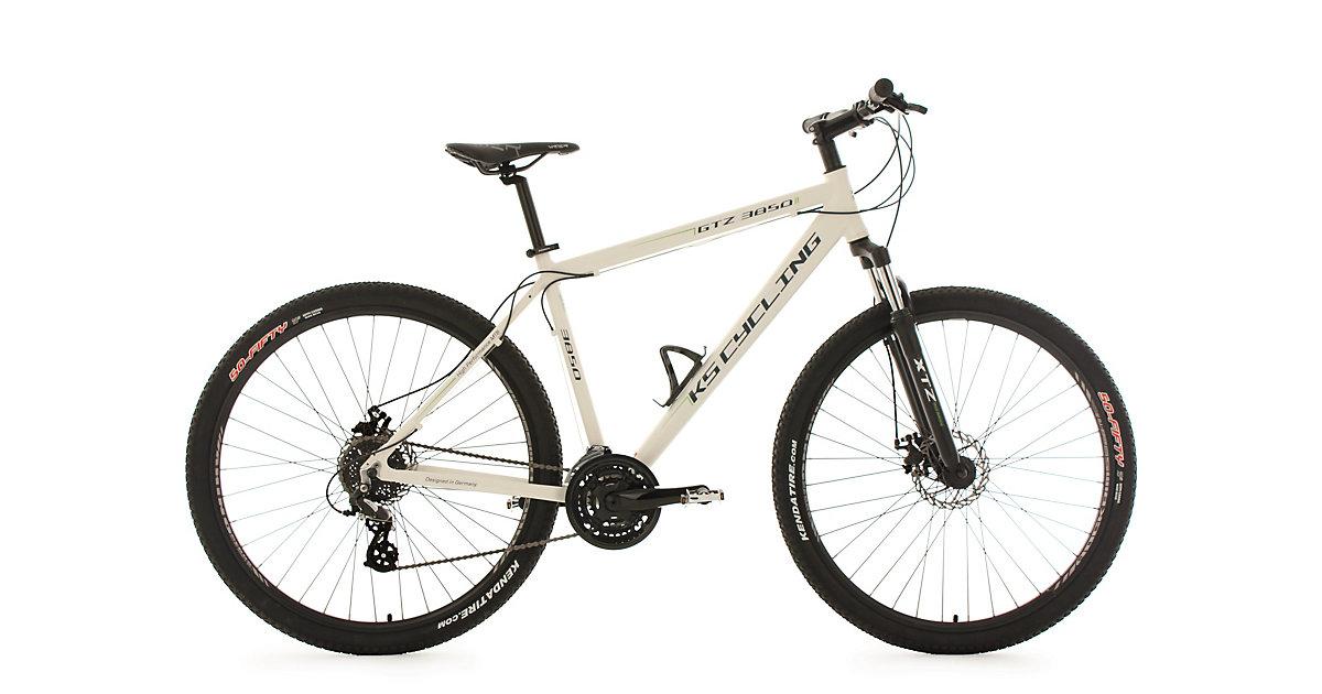 KS Cycling · Moutainbike Twentyniner Zoll 29 Zoll Hardtail GTZ 24 Hardtail, weiß-grün