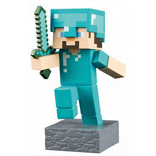 Фигурка Minecraft Adventure Steve 10см от Jinx