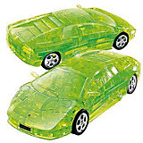 """3D пазл Happy Well """"Ламборджини"""", зеленый"""