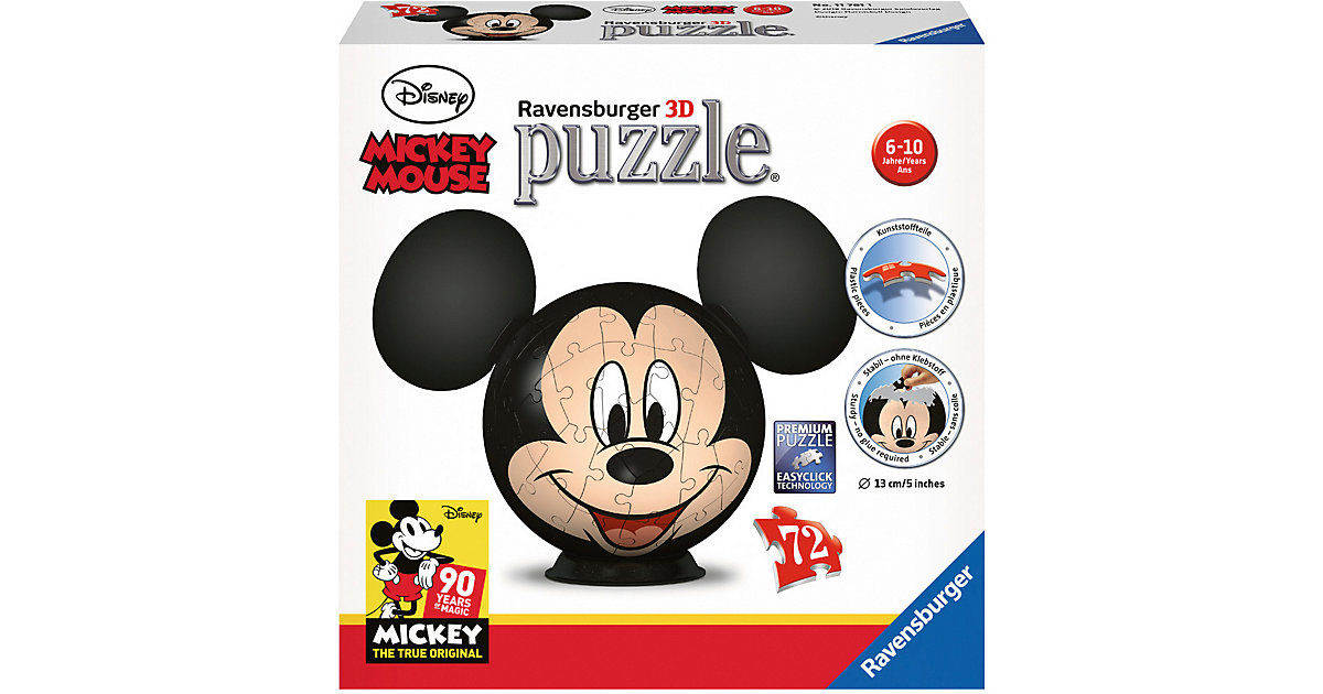 puzzleball® Disney Mickey Mouse 72 Teile