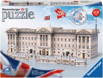 216 Teile Ravensburger Puzzle 3D Vision Puzzle Eiffelturm