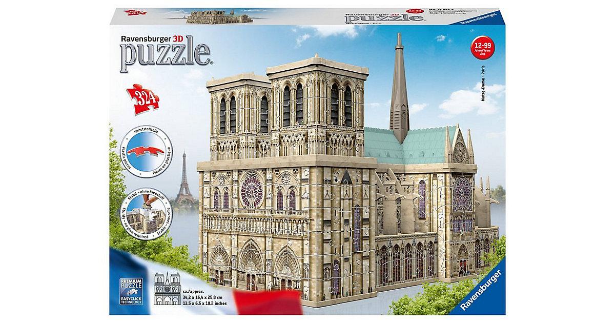 3D Puzzle Notre Dame 324 Teile