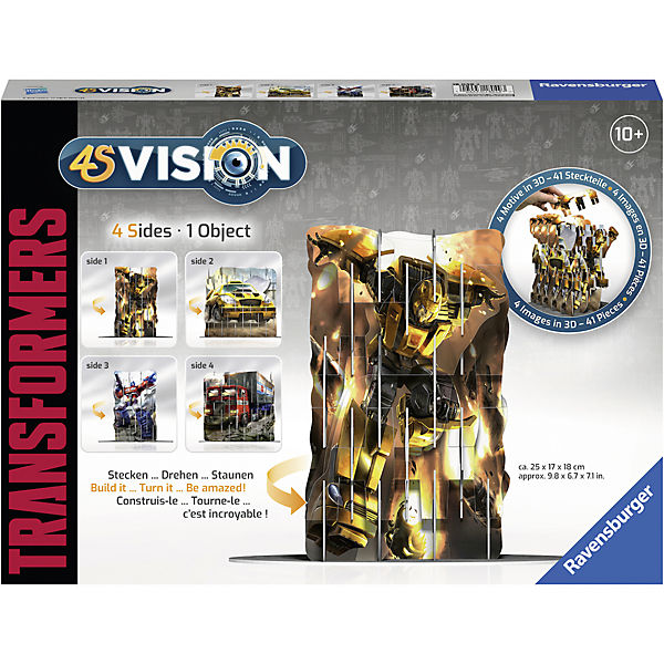 Puzzle 4S Vision Transformers, Transformers