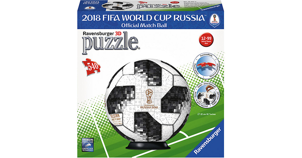 puzzleball® 540 Teile Match Ball 2018 FIFA Worl...